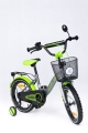 rower Tomabike Platinum silver-green