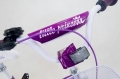 Bike for children 12 inch Tomabike Little Princess Violet