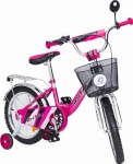 rower 16 cali BMX Bright pink