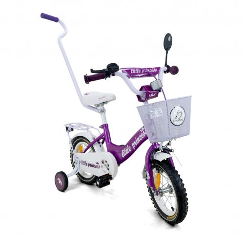 rowerek 12 cali Tomabike Little Princess Fiolet